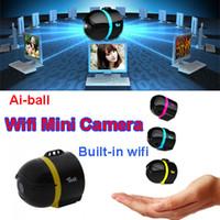 Ai-ball Ultraportatil Wifi Wireless Mini cámara de vigilancia IP de la cámara oculta espía más pequeño del mundo para el teléfono iPhone de Moblie Tablet PC