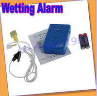 Wet Reminder  1   Free shipping+Adult Baby Bedwetting Enuresis Urine Bed Wetting Alarm +Sensor With Clamp
