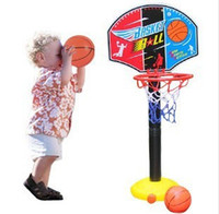 2 to 4 Years Unisex Basketball Free shipping, 115cm Outdoor indoor basketball frame shooting child basketball can lift baby little basketball rack toy HT302