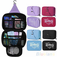 Wholesale New Arrival Hanging Waterproof Travel Toiletry Wash Makeup Storage Cosmetic Organizer Bag