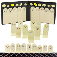 Wholesale Cute Pages Ten Fingers Sticker Post It Bookmark Flags Memo Sticky Notes pads