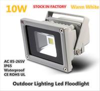 Wholesale hot selling high voltage Waterproof IP65 V AC W LED Flood Light warm white color Aluminum OutdoorLighting Led Floodlight