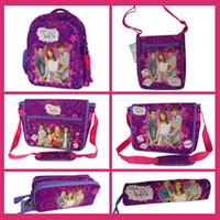Backpacks Cotton Fabric Men Frozen 2014 New Cute Child Action Figure Violetta School Pencil Bag children school bags children backpacks printing backpacks