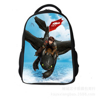 Wholesale 2014 new backpacks how to Train Your Dragon Children s cartoon school bag japanese school bag school bags for boys top quality