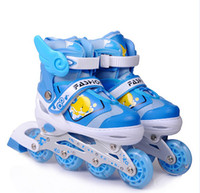 Wholesale Roller skates child skating shoes child full set skate shoes adjustable