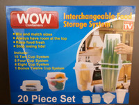 Wholesale Wow Plastic Transparent Keep Fresh Food Storage Containers Crisper