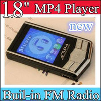 Wholesale 30pcs quot MP4 Player black Silver MP4 Player GB GB Built in FM Radio Voice Recorder MP