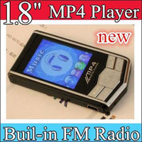 Wholesale 100pcs quot MP4 Player black Silver MP4 Player GB GB Built in FM Radio Voice Recorder MP