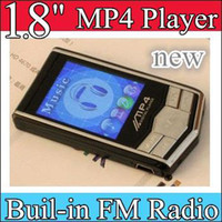Wholesale 10pcs quot MP4 Player black Silver MP4 Player GB GB Built in FM Radio Voice Recorder MP
