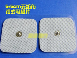 Wholesale 10 pairs Replacement Electro Massager Acupuncture Pads Body Massager Pads cm TENS EMS Pads Slimming Machine amp Therapy Machine Pads