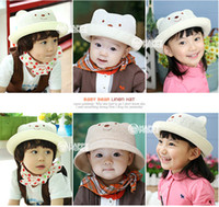 Unisex Winter Fedora 2014 fashion Children's sun hat Cubs bucket hats straw hat Cubs hat shape free shipping.
