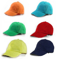 Wholesale 2016 Retail children s polo hats baby girls boys baseball caps summer spring POLO Kids hat children s sun caps kid headwear