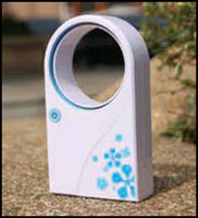 Wholesale USB Fan Cute Portable Handheld Mini Air Conditioner Desktop No Leaf Cooler many color mix shipment by Fedex