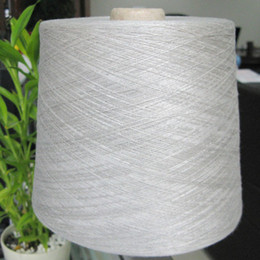 Wholesale Silver fiber conductive yarn silver fiber yarn for touch screen gloves