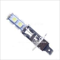 Wholesale Hot sale Car Fog Led Light Car fog light lamps H1 LED SMD Bulbs White color