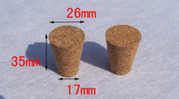 Plastic cork Bottle Stopper 26*17*35mm,Glass Red Wine Bottles Stopper Cork Cap,wholesale