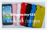 Wholesale New Jelly Style Shockproof TPU Back Skin Cover Soft Gel Case For Alcatel OT Tcl S900 Via Free DHL