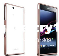 For Sony Ericsson Metal Yes Luxury High Quality Ultrathin Metal Bumper for Sony Xperia Z Ultra free shipping