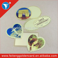 Wholesale Picture plated discount european style metal lable metal adhesive tag metal plaque