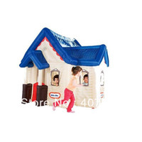 Tents Animes & Cartoons Cloth Kids Tent Special Little Tikes Deluxe Inflatable Play House Tent good game - indoor and outdoor