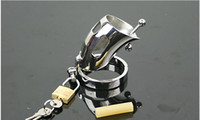 Male Chastity Cage  New Medical stainless steel Bondage gear TIGHT IMPALER Male Chastity cage Device BDSM TOYs