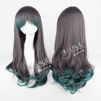Curly Synthetic Hair Wig,Half Wig Hot selling culy long party costume cosplay wig for synthetic heat resistance fibre hair.Stock.Free shipping