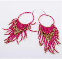 Cheap Dangle & Chandelier Tassel earrings Best as shown European & American,fashion,elegant earrings for man