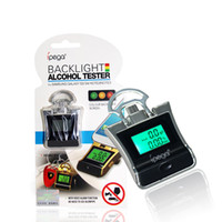 Wholesale Digital LCD Backlight Alcohol Analyzer Breathalyzer Alcohol Tester For Sams Sung S4 S3 Note2 Note3 Sony HTC And More