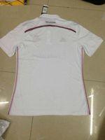Wholesale Madrid Blank White Thai Quality Soccer Jersey For Men Football Club Jerseys Customized soccer jerseys