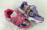 Wholesale Frozen anna elsa Children s kids sports shoes sandals shoes baby girls sandal sport boy sneakers Cool care big small size