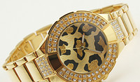 Wholesale Luxury Fashion lady dress watches women gold silver watches grain design dial watch