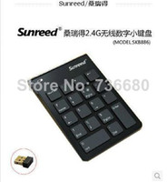 Wholesale Sunreed financial accounting numeric keypad G wireless digital keyboard Numeric keypad