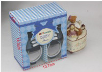 Summer baby blue stores - Our shoes match baby shoes gift box store decoration box Exquisite box