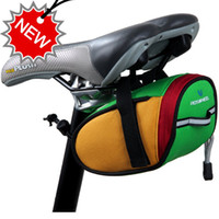 Wholesale Outdoor Cycling Bike Bicycle Saddle Bag Back Seat Tail Pouch Package Three Colors H8610 Freeshipping Dropshipping