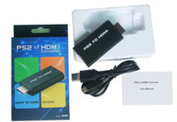 Wholesale PS2 to HDMI Converter outputs video and audio in full digital HDMI format and supports PS2 display modes i i p