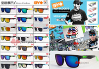 Wholesale hot sale models SPY KEN BLOCK HELM Cycling Sports Sunglasses Outdoor Sun glasses Brand Black Skin Snake SPY OPTIC HELM Ken Block AAA