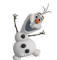 Mascot Costumes Animal Occupational New arrival Custom made Cartoon Character Adult Frozen Olaf Snowman Mascot Fancy Dress Costume