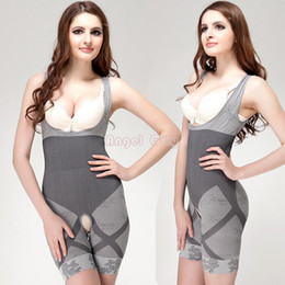 Wholesale 2014 Slim Underwear Slimming Suits Body Shaper Bamboo Charcoal Sculpting Underwear Sliming Suits Sexy Underwear SV002156