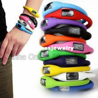 atm silicone bracelets - ATM Waterproof Silicone Rubber Jelly Ion Unisex Sports Bracelet Wrist Watches for Adults and Kids