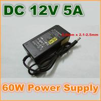 Wholesale AC V V Converter Adapter DC V A W Power Supply Charger DC mm EU US Plug for LED strip lights