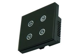 24v диммер панель Онлайн-Бесплатная доставка 4 клавиши Кнопка Сенсорная панель диммер контроллер DC12V-24V TM02 Для одноцветные светодиодные полосы