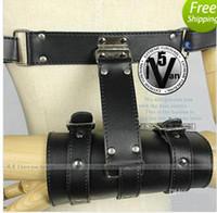 Cheap Wrist & Ankle Cuffs Bondage Gear Sex Toys Best Unisex  Leather Bondage rope