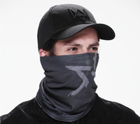 Wholesale Watch Dogs Aiden Pearce Cap Scarf Face Mask Set Cosplay Game Costume Cap Dropshipping