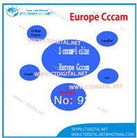 Cheap 2 cccam=1 cline Europe CCcam for Norway Germany Italy France Spain Sweden Netherland UK ect one year by email free shipping
