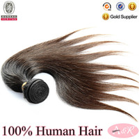 Wholesale Hot Sale A Grade Hair Products Virgin Hair Cheap Natural Color Remy Russian Human Hair Extension