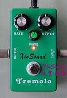 For Electric analog guitar pedal - Vintage Analog Tremolo Guitar Effects Pedal TR XinSound PRO series with True Bypass