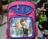 Wholesale 3pcs Frozen Children School Bags Printing Cartoon Schoolbag Baby Kids Backpack For Girls Boys Hot Sell Bolsa Mochila Infantil