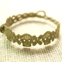 venda por atacado italian bracelet-Presente de natal Atacado Novo Estilo Moda da Cabeça Crânio de Malha, Rendas italiano, Pulseira de 200pcs Novo