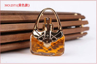 Wholesale Lady Perfume Fragrance Bags Shape Spray Bottle ml Four Colors For Women Convenient For Travelling Carrying