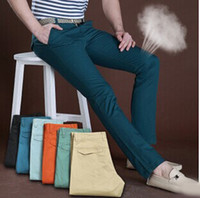 Wholesale New mens pants Linen trousers size cotton colors fashion men pants cheap mens pants cool pants for men